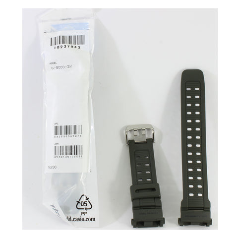 Casio G-Shock Matte Green Genuine Replacement Strap 10237943 to suit G-9000-3V