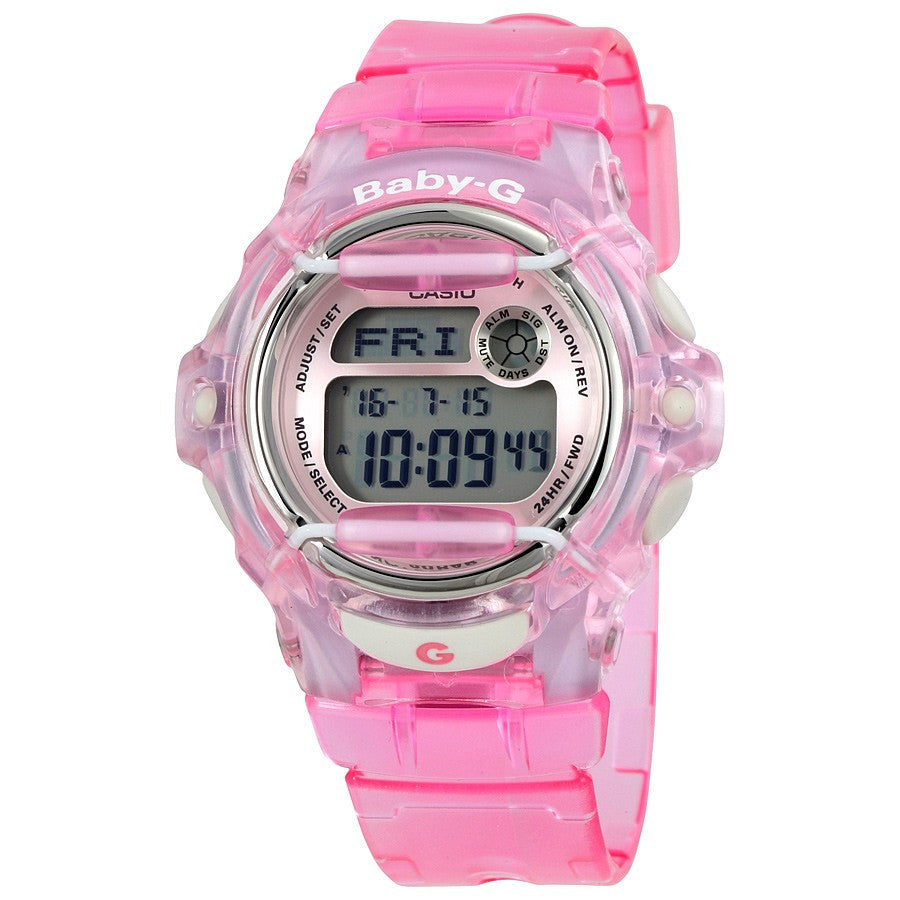 Casio Baby-G BG-169R-4 Transparent Pink Women's Digital Watch