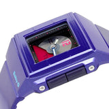 Casio Baby-G BGA-201-2E Purple Square 100m Digital Analog Women's Sports Watch