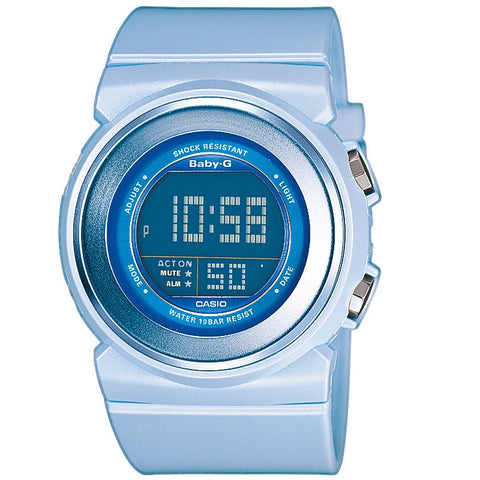 Casio Baby-G BGD-100-2 Light Blue Women's Digital Sports Watch