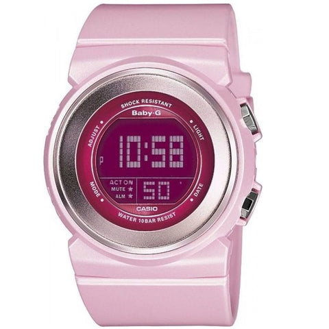 Casio Baby-G BGD-100-4 Light Pink Women's Digital Sports Watch