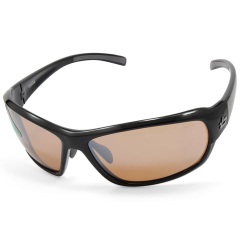 48a6982e81b Bolle Bounty 11532 Shiny Black V3 Photochromatic Unisex Golf Sunglasses