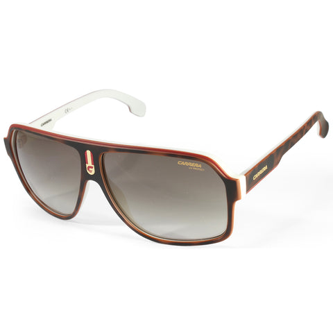 Carrera 1001/S C9K HA Matte Havana on White/Brown Gradient Men's Sunglasses