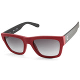 G by Guess GG2106 Matte Red & Black/Grey Gradient Men's Sunglasses