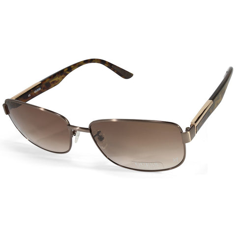 6fa5e9319e36 Sale Guess GU 4001-D 6448F Gunmetal Havana Brown Gradient Men s Sunglasses