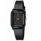 Casio LQ-142-1E Black Dial Resin Strap Basic Women's Casual Analog Watch