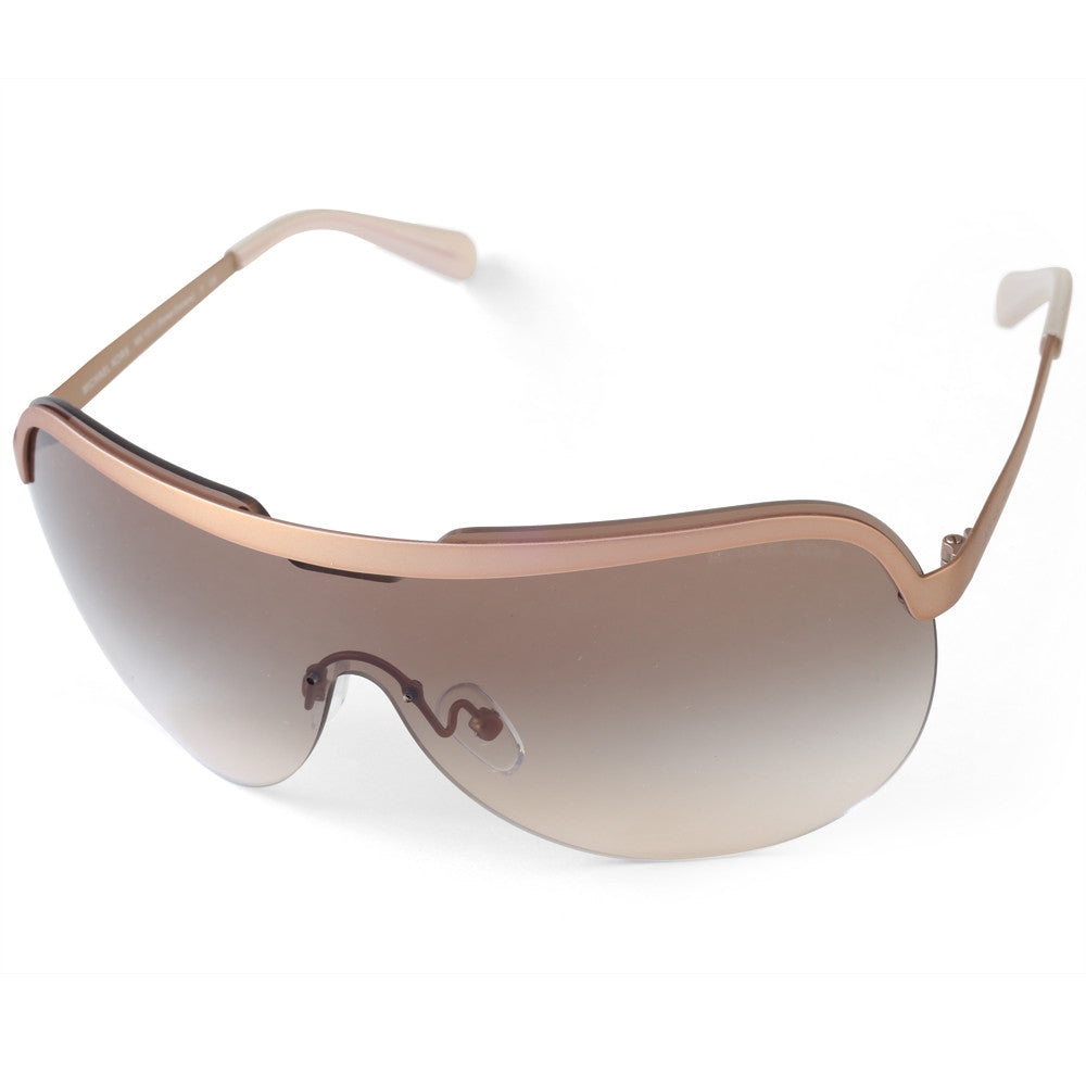 326ffc3e5bb Michael Kors. Michael Kors MK1017 114113 Sweet Escape Matte Rose Brown  Gradient Women s Sunglasses