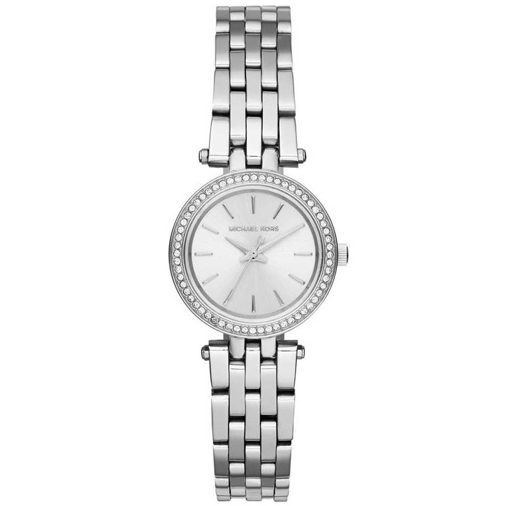 Michael Kors MK3294 Petite Darci Silver Dial Stainless Steel Ladies Watch