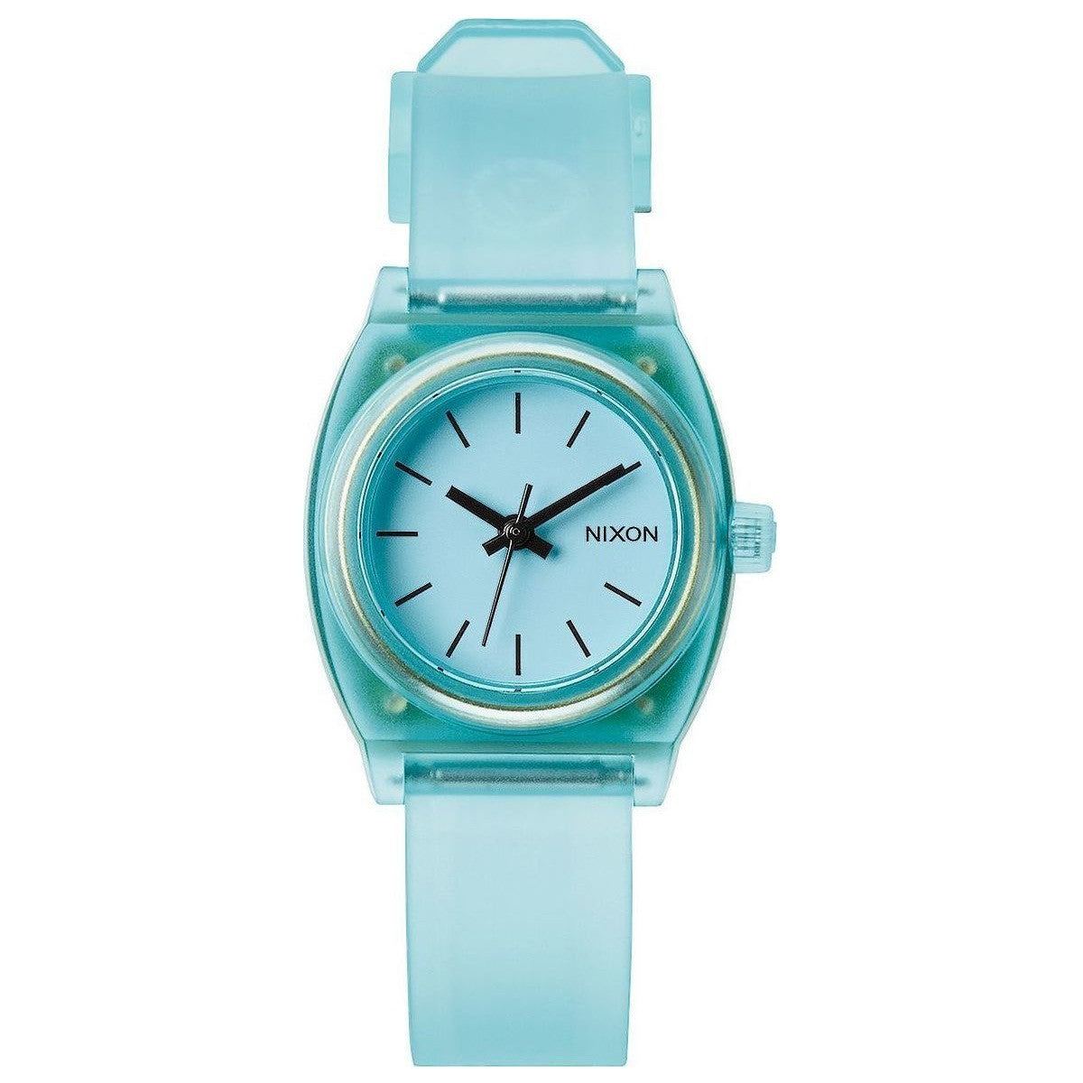 Nixon A4251785 Small Time Teller P Translucent Mint Womens Analog Watch