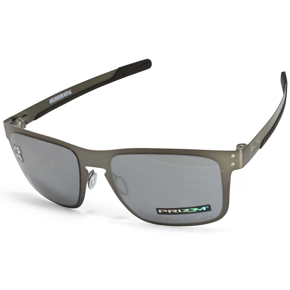 9cfa77c5aa9 ... hot oakley holbrook metal oo4123 06 gunmetal prizm black polarised  sunglasses 548af 65566
