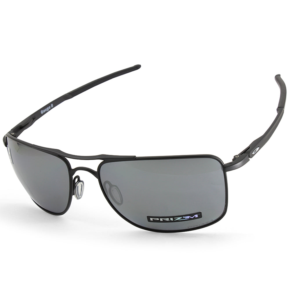 c39191c791 Oakley. Oakley Gauge 8 L OO4124-02 Matte Black Prizm Black Polarised Men s  Sunglasses