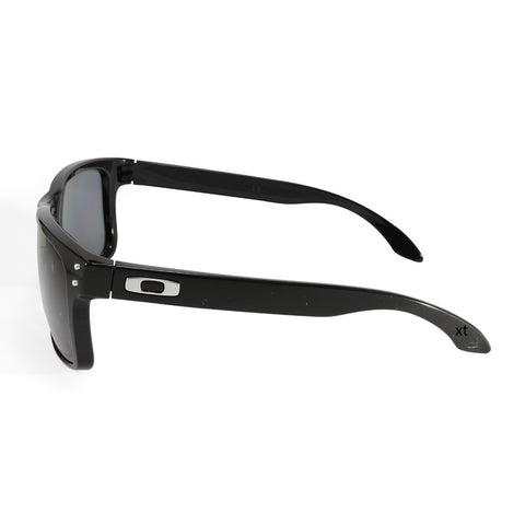 oakley holbrook polished black oo9102-02 polarised