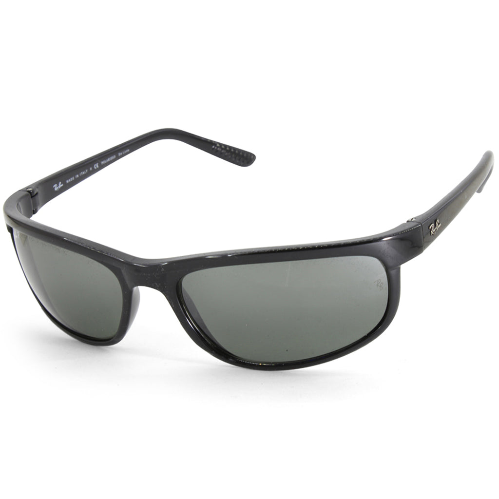38950ff0de23 Ray-Ban. Ray-Ban RB2027 601 W1 Predator 2 Black Grey Mirror Polarised  Sunglasses