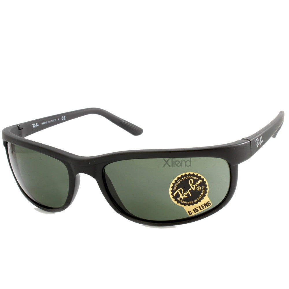 7d88e62699 Ray-Ban RB2027 W1847 Predator 2 Matte Black Green Sunglasses – xTrend