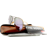 Ray-Ban RB3025 167/4K Aviator Flash Bronze Copper/Lilac Mirror Sunglasses