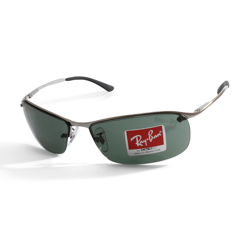 1074760324 Ray-Ban Active Lifestyle Ruthenium/Grey-Green RB3183 004/71 ...