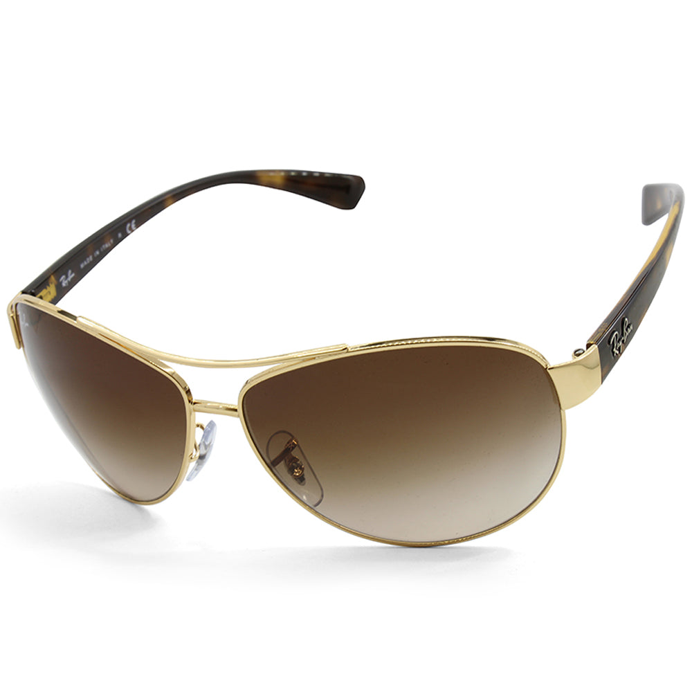 a3e7ca6028 Ray-Ban. Ray-Ban RB3386 001 13 Polished Gold Brown Gradient Men s Metal  Sunglasses