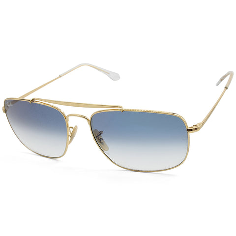 601ef1150a Sale Ray-Ban RB3560 001 3F The Colonel Gold Blue Gradient Men s Metal  Sunglasses