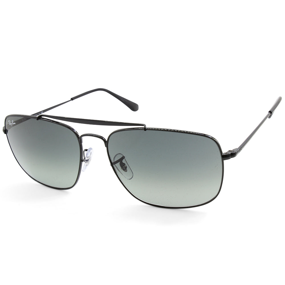 Ray-Ban RB3560 002/71 The Colonel Black/Grey Gradient Men's Metal Sunglasses