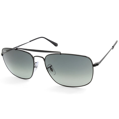 d1fc74a608 Sale Ray-Ban RB3560 002 71 The Colonel Black Grey Gradient Men s Metal  Sunglasses