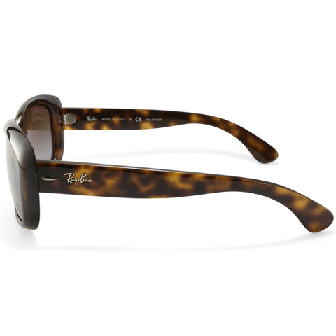 f501adc63e545 ... Ray-Ban Jackie Ohh RB4101 710 T5 Havana Brown Gradient Women s  Sunglasses ...