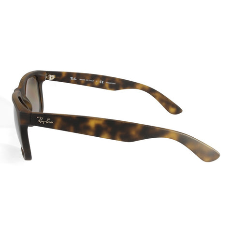 818c82c103 ... Ray-Ban RB4165 865 T5 Justin Matte Tortoise Brown Gradient Polarised  Sunglasses ...