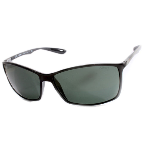 Ray-Ban Liteforce RB4179 601/71 Black/Grey-Green G15 Men's Sunglasses