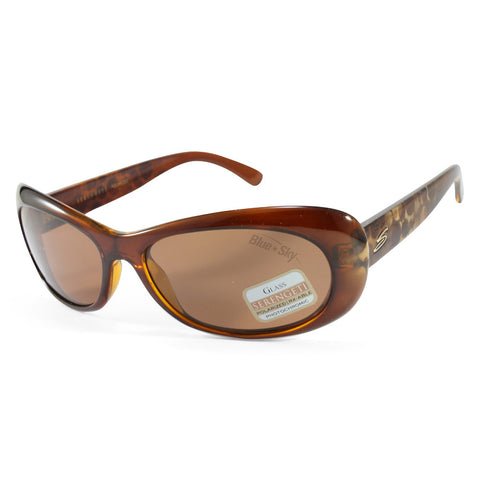 Serengeti Bella 7627 Shiny Tortoise/Brown Polarised Womens Sunglasses