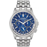 Citizen Eco-Drive BU2021-69L Blue Dial World Time Men's Solar Analog Watch