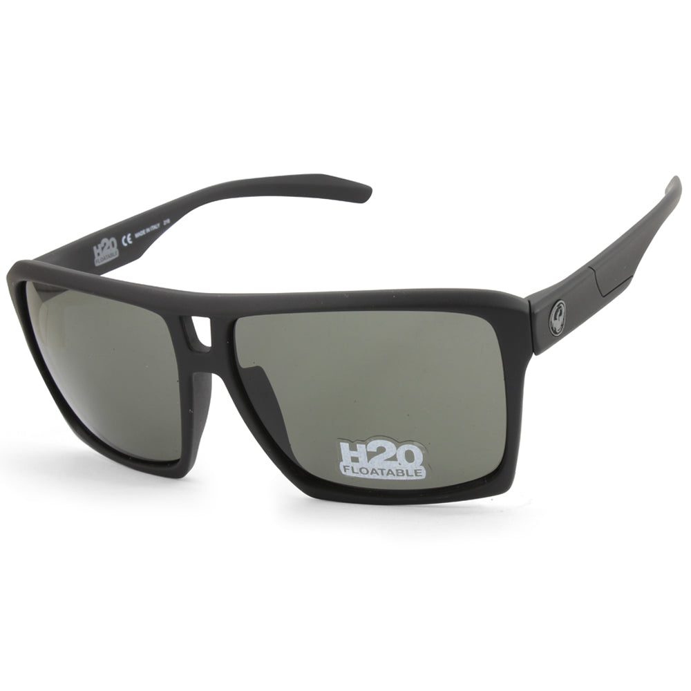 Dragon The Verse H2O 38675-002 Matte Black/Grey Men's Floatable Sunglasses