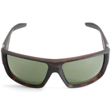 Dragon Deadlock Matte Tortoise/Green G15 Men's Rectangular Sports Sunglasses