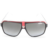 Carrera 33 8V4-PT Polished Black on White/Grey Gradient Men's Sunglasses