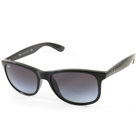 Ray-Ban Andy RB4202 601/8G Polished Black/Grey Gradient Unisex Sunglasses