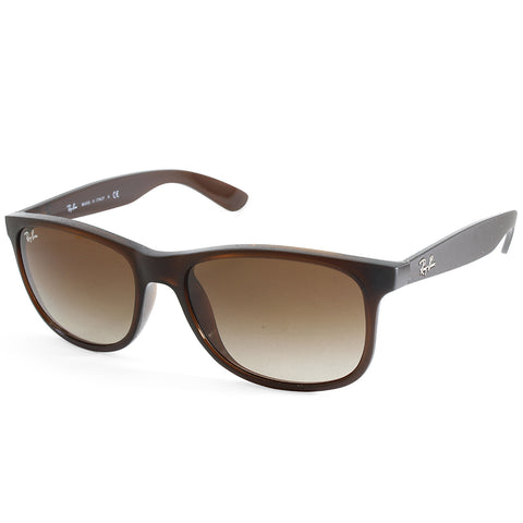 Ray-Ban Andy RB4202 607313 Matte Brown/Brown Gradient Unisex Sunglasses