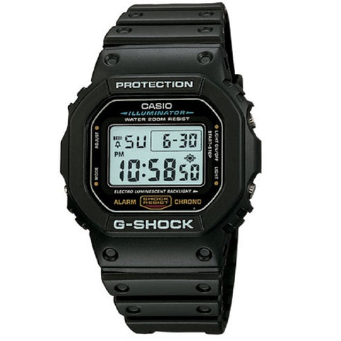 Casio G-Shock DW5600E-1V Black Classic Retro Men's 200m Digital Sports Watch