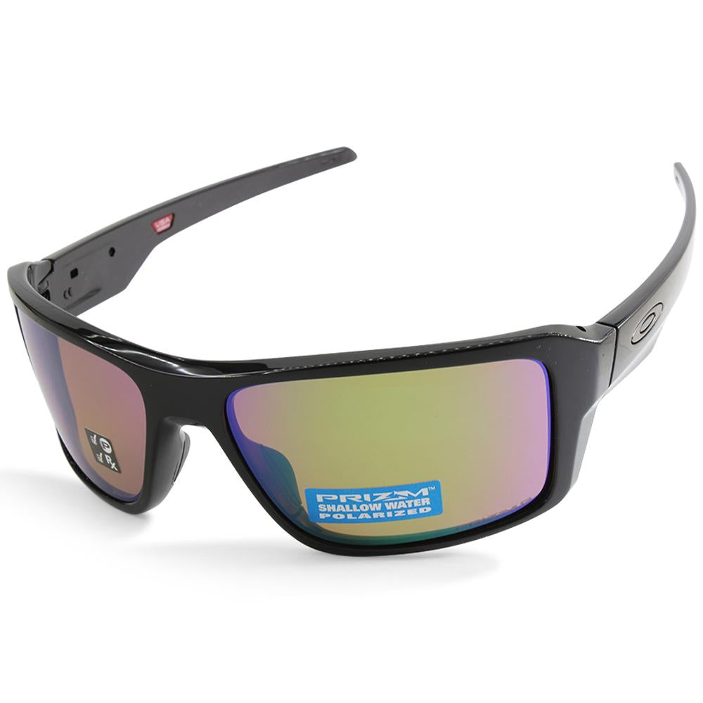 Oakley Double Edge OO9380-14 Polished Black/Shallow Water Polarised Men's Sunglasses
