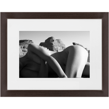 Load image into Gallery viewer, Desert Nude - Rest | Contemporary Framed Art Photo