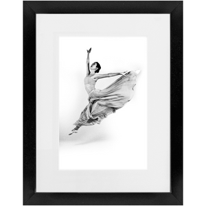 Contemporary Ballerina 1 - Contemporary Framed Art Photo