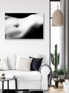 Contour Nude 3 | Canvas Art Print