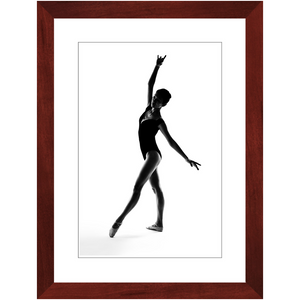 Contemporary Ballerina 5 - Contemporary Framed Art Photo