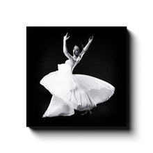 Load image into Gallery viewer, Dancer In A White Dress 4 | Square Canvas Art Print