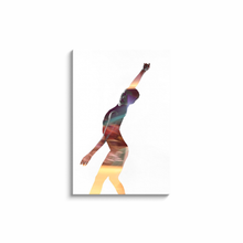 Load image into Gallery viewer, Dance Within A Dance | Contemporary Canvas On White 3