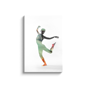 Dance Within A Dance | Contemporary Canvas On White 6