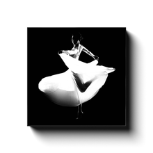 Load image into Gallery viewer, Dancer In A White Dress 1 | Square Canvas Art Print