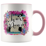 Show Mom Show Lamb Accent Coffee Mug