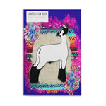 Show Lamb Composition Book College Rule