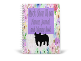 Stock Show Mom-Show Pig Planner, Journal, & Coloring Spiral Book