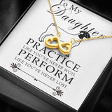 Show Goat Practice Like You've Never Won-Perform Like You've Never Lost Necklace