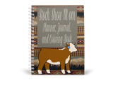 Show Mom Journal, Planner, & Coloring Book For Show Heifers