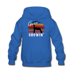 Goin' Showin' Show Lamb Kids' Hoodie - royal blue